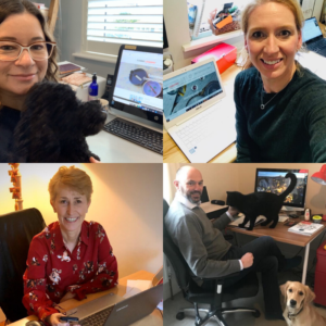 Comms Leaders team working from home during the Coronavirus crisis and here if you need us.